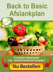 Back to Basic Afslankplan bestellen - Koolhydraatarm dieet