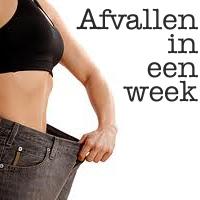 2 kg afvallen per week